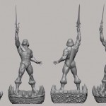PCS He Man Statue