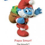 Papa Smurf Ornament