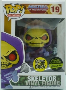 Pop Vinyl Glow in the Dark Skeletor