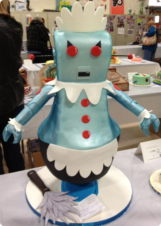 Rosie the Robot Cake