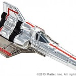 SDCC Hot Wheels Battlestar Galactica Colonial Viper 1