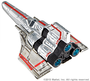 SDCC Hot Wheels Battlestar Galactica Colonial Viper 2