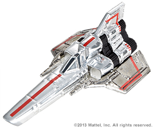 SDCC Hot Wheels Battlestar Galactica Colonial Viper 4