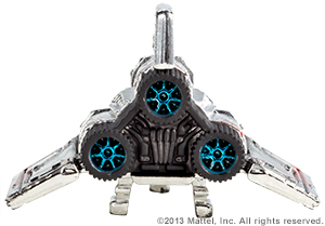 SDCC Hot Wheels Battlestar Galactica Colonial Viper 7