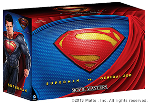 SDCC Movie Master Man of Steel 2 Pack