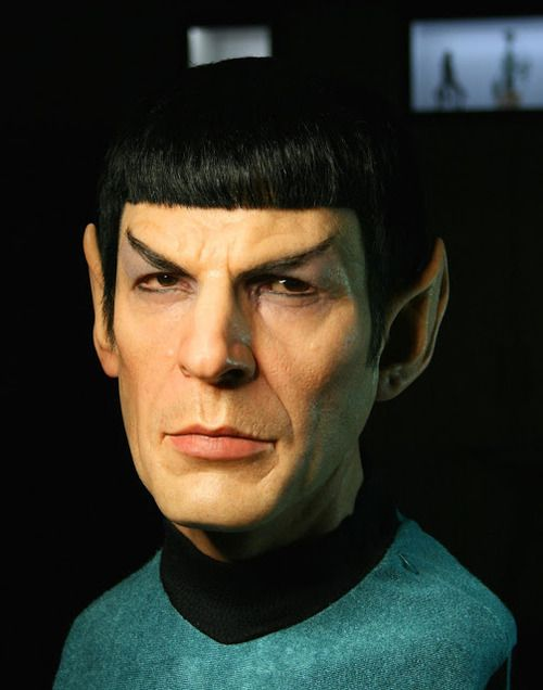 Spock Sculpture