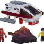 Star Trek KRE O Spocks Volcano Mission Set