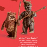 Star Wars Ewoks Ornaments