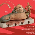 Star Wars Jabba The Hutt and C 3PO Ornament