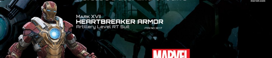 Action Hero Vignette Iron Man 3 Heartbreaker Armor 004