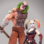 Batman Arkham City Mr Hammer and Harley Quinn Action Figure 2 pack