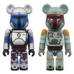 Be@rbrick Boba Fett and Jango Fett 2 Pack