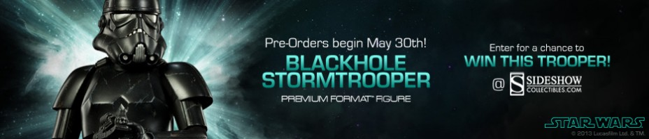 Blackhole Stormtrooper Premium Format Figure Preview