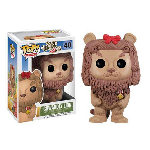 Cowardly Lion Wizard of Oz Pop Vinyl