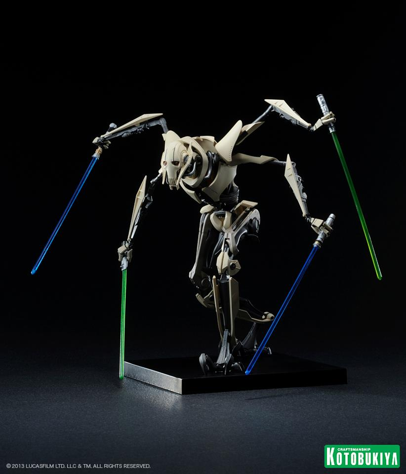 Kotobukiya General Grievous Artfx Statue The Toyark News