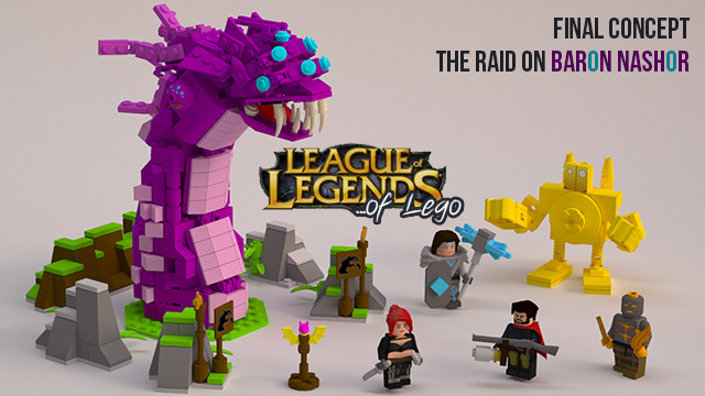Leagu of Legends LEGO CUUSOO