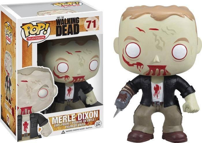Merle Dixon Walker Walking Dead Pop Vinyl
