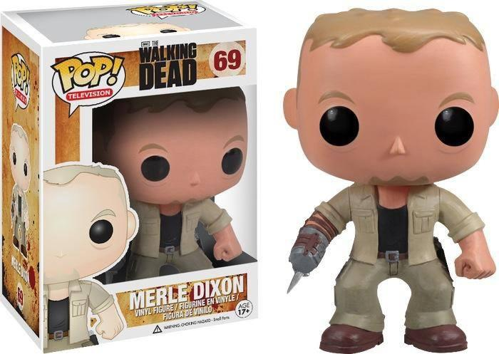 Merle Dixon Walking Dead Pop Vinyl