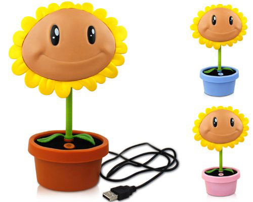 Plants vs Zombies Sun Flower LED Lamp