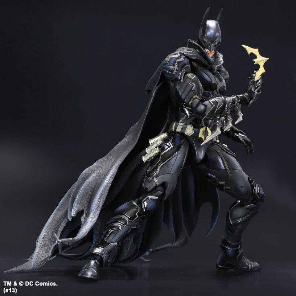 play arts kai batman variant