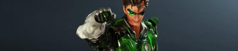 Play Arts Kai Variant Green Lantern 002