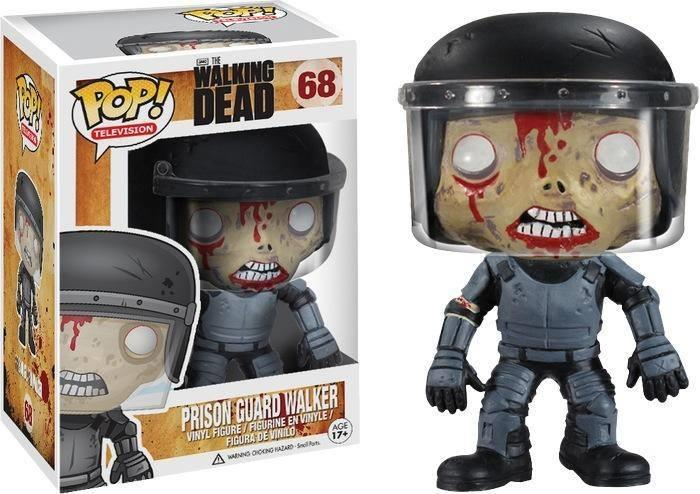 Prison Guard Walker Walking Dead Pop Vinyl