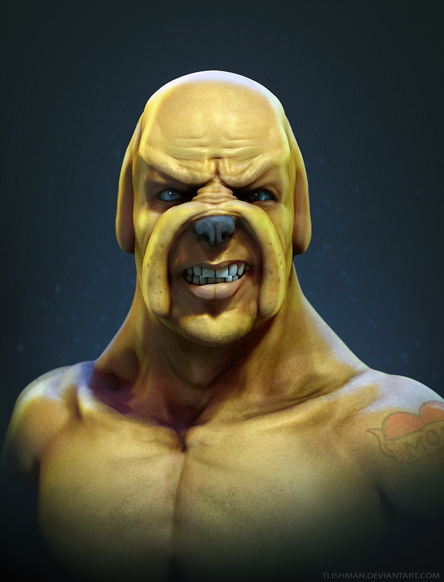 Realistic Jake The Dog from Adventure Time