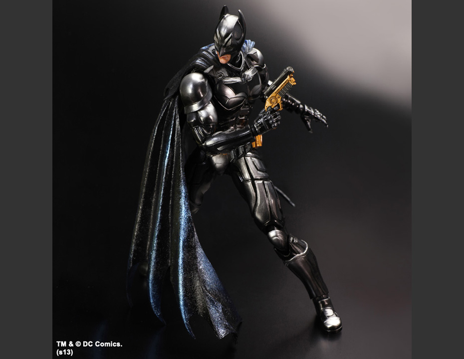 SDCC Play Arts Kai Dark Knight Batman 2
