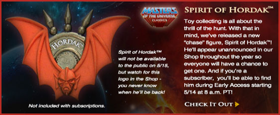 Spirit of Hordak Info