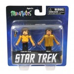 Star Trek Legacy Minimates Captain Kirk and Kahn