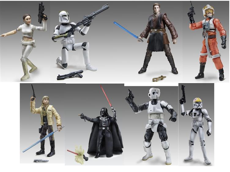Star Wars Black Series 3 75 Inch Wave 1 Set