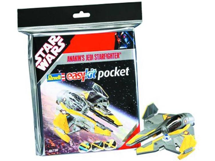 Star Wars Mini Snaptite Model Kit Anakin Starfighter