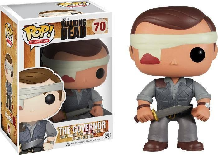 The Governor Bloody Eye Patch Walking Dead Pop Vinyl