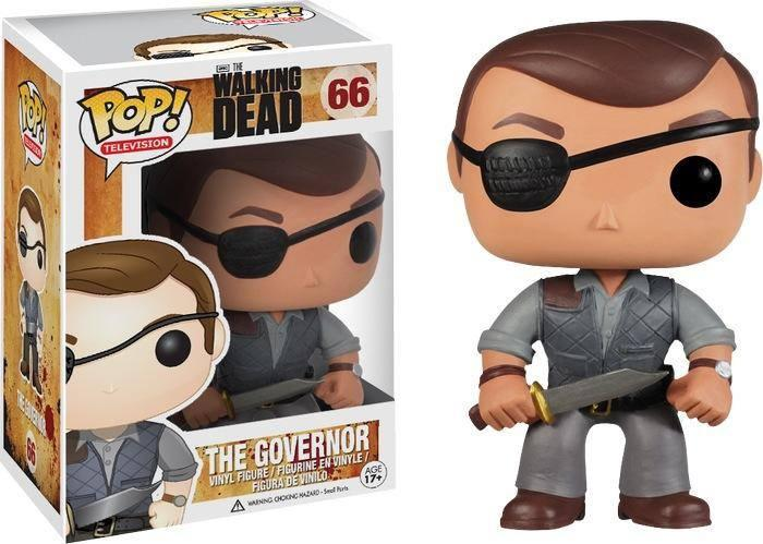 The Governor Walking Dead Pop Vinyl