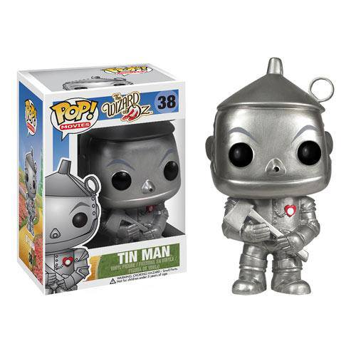 Tin Man Wizard of Oz Pop Vinyl