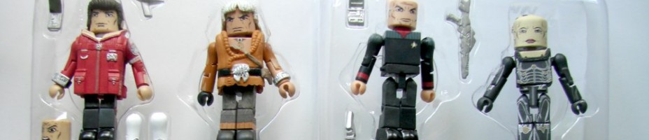 Tray Shot Star Trek Legacy Minimates