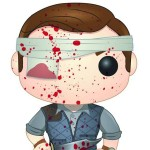 Walking Dead Pop Vinyl The Governor Blood Splattered