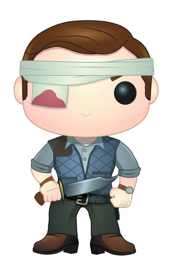 Walking Dead Pop Vinyl The Governor
