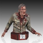 Walking Dead Sophia Stalker Walker Zombie Mini Bust 4