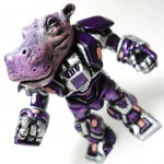 battle beasts purple hippo