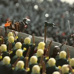 helms deep wall lego lord of the rings