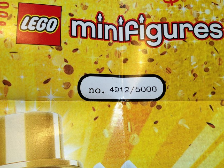 LEGO Minifigure Series 10 MR. GOLD Images - The Toyark - News