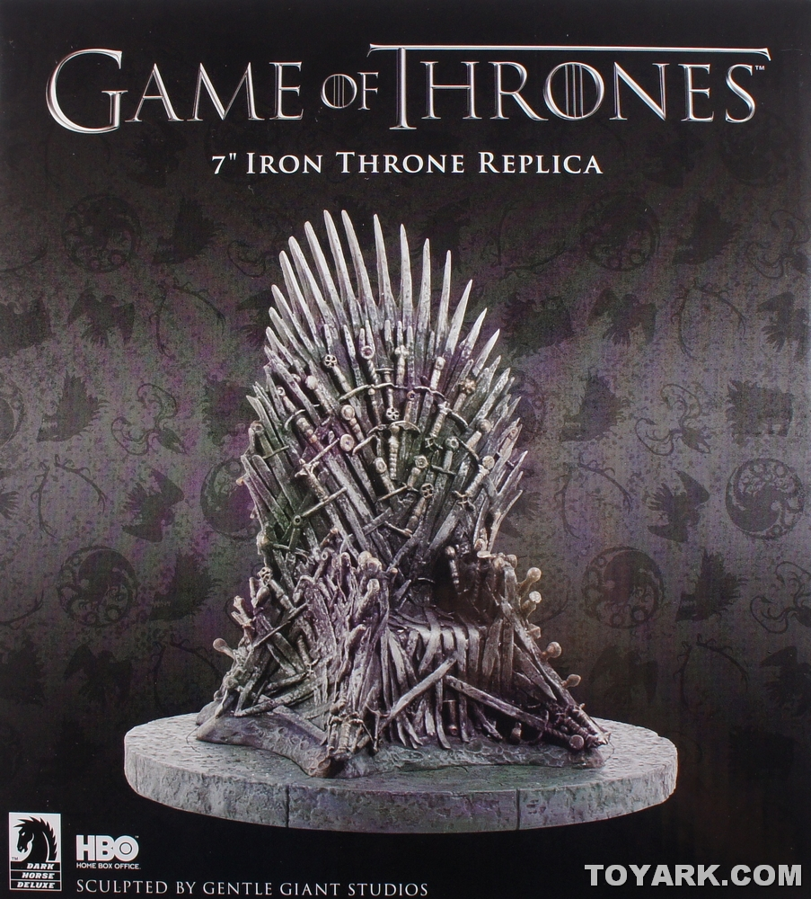 Game of thrones chair replica - Game Of Thrones 7 Quot Iron Throne Images The Toyark News