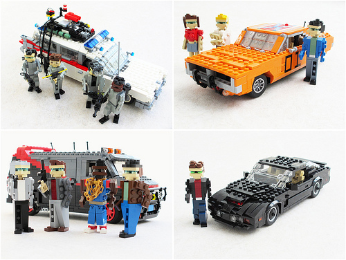 80s Vehicles as LEGO