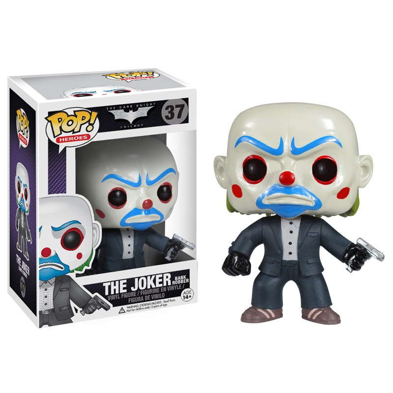 DC Comics Pop Vinyl Dark Knight Joker Bank Robber