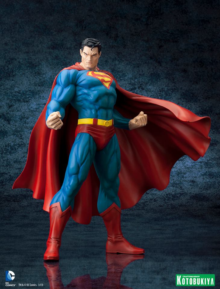 DC Comics Superman For Tomorrow ARTFX Statue 001