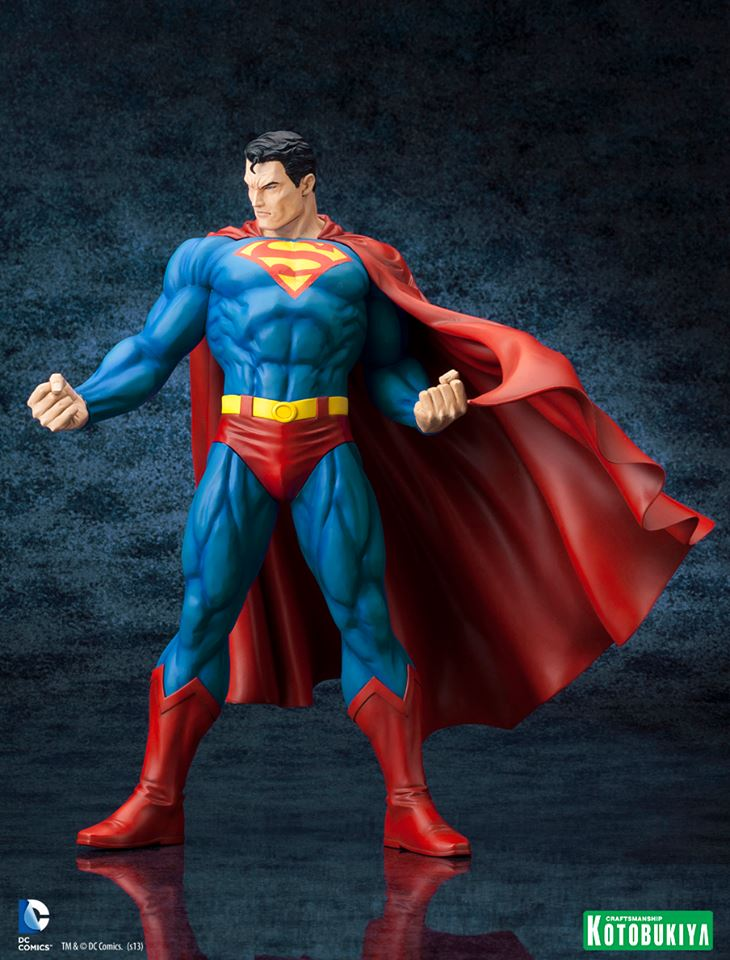 DC Comics Superman For Tomorrow ARTFX Statue 002