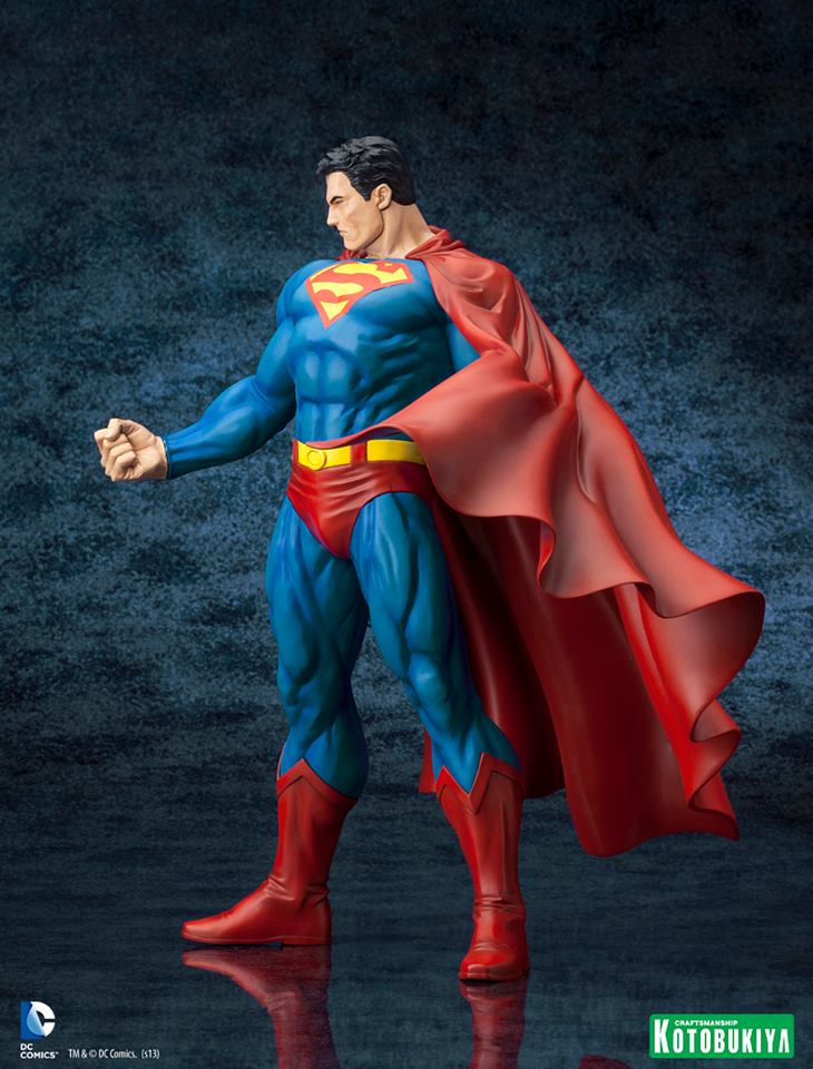 DC Comics Superman For Tomorrow ARTFX Statue 004