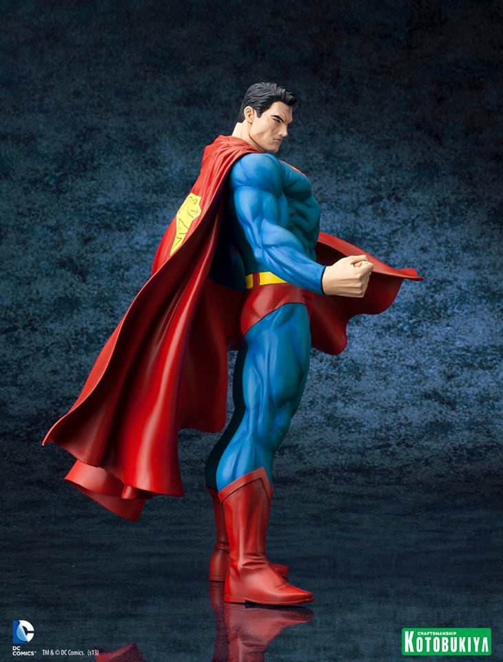 DC Comics Superman For Tomorrow ARTFX Statue 005