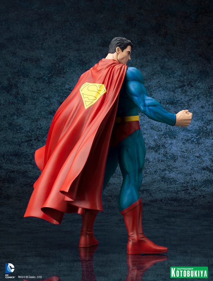 DC Comics Superman For Tomorrow ARTFX Statue 006